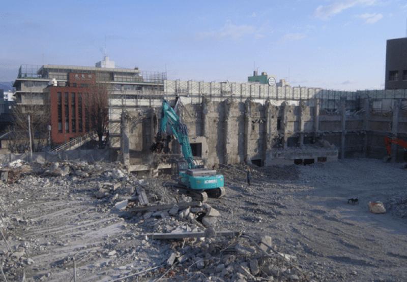 解体工事のイメージ写真