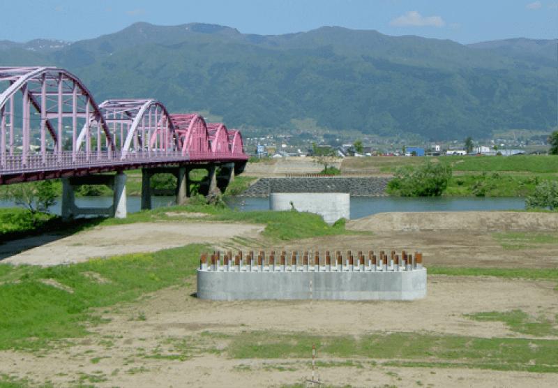 橋脚・橋補修工事のイメージ写真